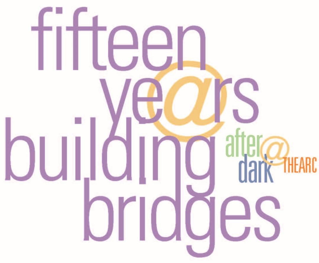 Cheersto15Years Virtual AfterDark@THEARC Celebration  Logo